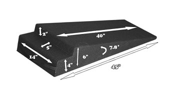 Race Ramp 6 Inch Trailer Ramps - Set of Two