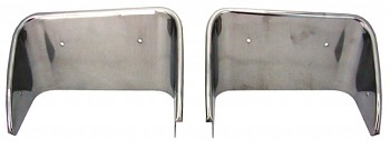 C3 Corvette 1970-1973 Polished or Chromed Stainless Steel Exhaust Bezels