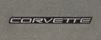 C5 Corvette 1997-2004 Lloyds Velourtex Floor Mats - Corvette Script