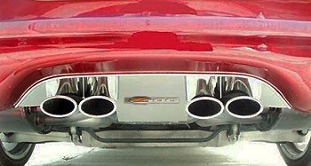 C5 Corvette 1997-2004 Z06 Logo Exhaust Filler Panel