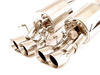 C6 Corvette Z06 / ZR1 2006-2013 Billy Boat Fusion Exhaust w/ Round Tips