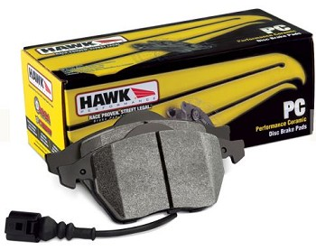 C6 Corvette Z06/Grand Sport 2006-2013 Hawk Performance Rear Ceramic Brake Pads