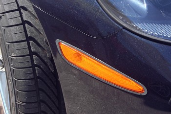 C6 Corvette 2006-2013 Side Marker Bezels - Polished