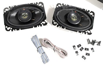 C3 Corvette 1968-1982 Kenwood Front Speakers 60 Watt - Pair