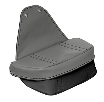 C5 Corvette 1997-2004 Two-Tone Leather Console Travel Pouch