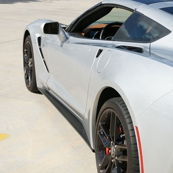 C7 Corvette Stingray/Z06/Grand Sport 2014+ Custom Painted Stage 1 Style Side Skirts