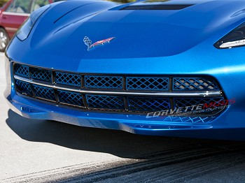 C7 Corvette Stingray 2014+ Custom Painted Front Grille Overlay