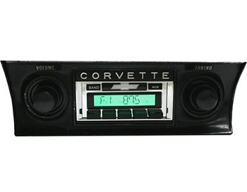C3 Corvette 68-82 USA-230 AM/FM with Aux-In Custom Auto Sound