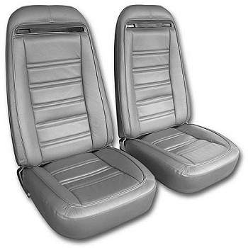 C3 Corvette 1968-1975 Seat Covers - Vinyl & Leather-Like Options