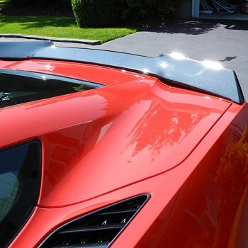 C7 Corvette Stingray/Z06/Grand Sport 2014+ WickerBill Spoiler - Custom Painted - NO DRILL DESIGN