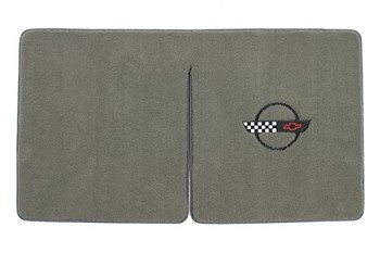 C4 Corvette Convertible 1984-1996 Lloyd Velourtex Cargo Mats with C4 Emblem