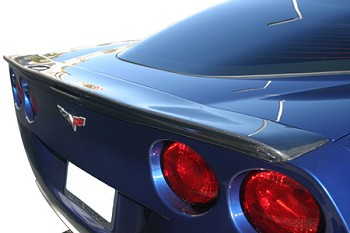 C6 Corvette 2005-2013 RK Sport Rear Spoiler - Carbon Fiber & Fiberglass Options