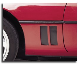 C4 Corvette 1984-1994 Side Vent Louver Decals