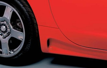 Corvette ACI Short Rocker Panels 1997-2004 C5 & Z06