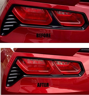 C7 Corvette Stingray/Z06/Grand Sport 2014+ Taillight Bar Mod - Vinyl