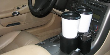 C5 C6 Corvette 1997-2013 Plug And Chug Console Drink Holder