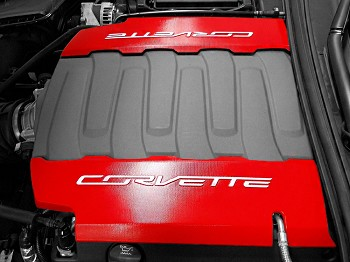 C7 Corvette Stingray/Grand Sport 2014-2019 Custom Painted Fuel Rail Covers