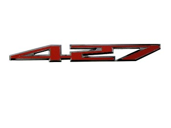 C2 C3 C4 C5 C6 C7 Corvette 1963-2019 427 Emblem Decal