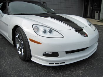 C6 Corvette Z06/Grand Sport 2006-2013 GM OEM Front Splitter Replacement - Custom Painted