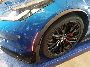 C7 Corvette Stingray/Z06/Grand Sport 2014-2019 Custom Painted Oracle LED Side Markers - Clear/Tinted/Ghosted Lens