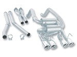 C6 Corvette 2005-2008 Borla Cat Back Exhaust System - S Type
