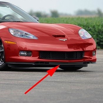 C6 Corvette Z06/Grand Sport 2006-2013 Reproduction Front Splitter
