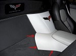 C6 Corvette 2005-2013 Custom Painted Center Console Waterfall Bottom