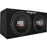 Universal Corvette 1968-2014+ 1200 Watt Dual 12 Inch Subs - With Enclosure