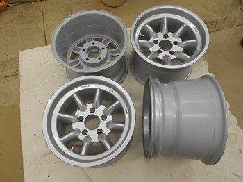 C3 Corvette 1968-1982 Minilite Aluminum Wheels - Set of Four - Size & Finish Options
