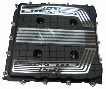 C7 Corvette Z06 2015+ Supercharger Cover - 2017 Style - Cooling Upgrade For  2015-2016