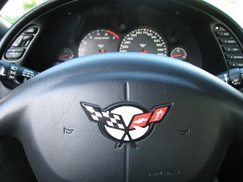 C5 Corvette 1997-2004 Domed Steering Wheel Decal