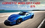 $75 Corvette Mods Gift Card - PURCHASE WITH REWARDS POINTS