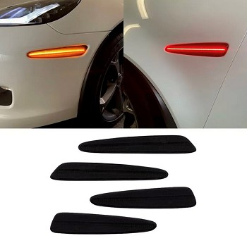 C6 Corvette 2005-2013 LED Side Marker Replacements - Full Set - Smoked