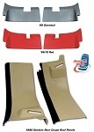C3 Corvette 1978-1982 Coupe Rear Roof Panels