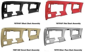C3 Corvette 1978-1982 Dash Assembly - All Colors