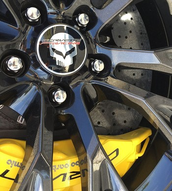 C7 Corvette Stingray/Z06/Grand Sport 2014+ GM Center Cap - Jake Logo