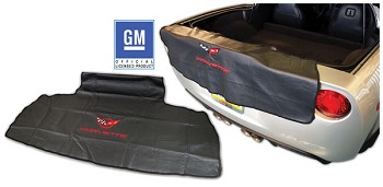 1997-2013 C5 C6 Corvette Embroidered Rear Bumper Bibs