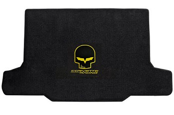 C6 Corvette 2005-2013 Lloyd Velourtex Jake Logo Cargo Mat