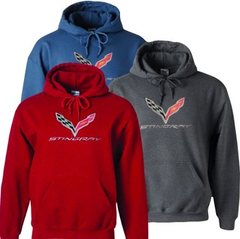 C7 Corvette Stingray 2014-2019 Hooded Sweatshirt
