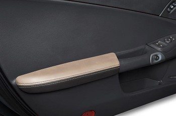 C6 Corvette 2005-2013 Leather Armrests - Two-Tone Colors