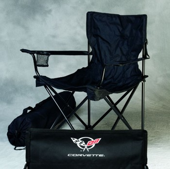 C5 C6 Corvette 1997-2013 Logo Travel Chairs