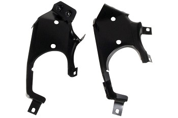 C3 Corvette 1969 Grille Inner Support Bracket - Pair