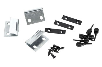 C3 Corvette 1968-1979E Rear Storage Compartment Latch Striker Kit - Car Set with Hardware