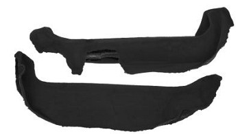 C4 Corvette 1988-1996 Door Sill Carpet - Pair