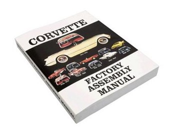 C2 Corvette 1963-1967 Year Specific Corvette Assembly Instruction Manual