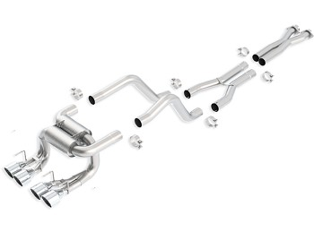 C6 Corvette Z06 / ZR1 2006-2011 Borla Cat Back Exhaust System - ATAK