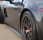 C6 Corvette 05-13 LG ZR1 Rocker Side Panel Carbon Fiber