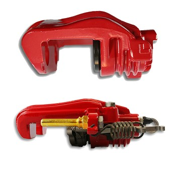 C4 Corvette 1984-1987 Brake Caliper - Red Powder-Coat