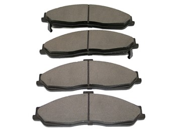 C5 Corvette 1997-2004 Semi-Metallic Brake Pads Set