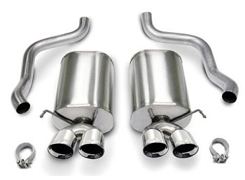 C6 Corvette 2005-2008 CORSA Xtreme Axle-Back Exhaust System - w/ 4 Inch Tips